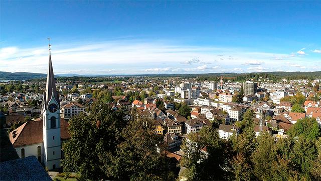 Panorama von Uster