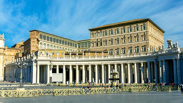 Residenz des Papstes: Apostolischer Palast