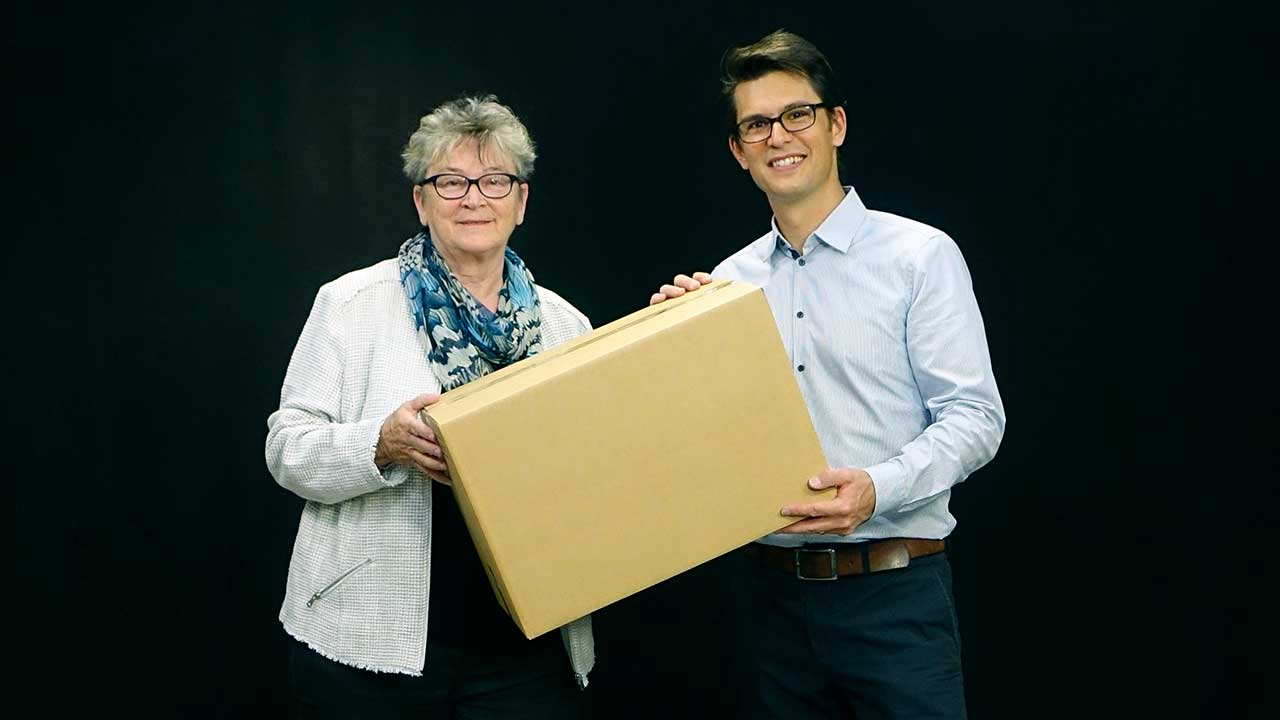 Verena Birchler und Mathias Fontana | (c) ERF Medien