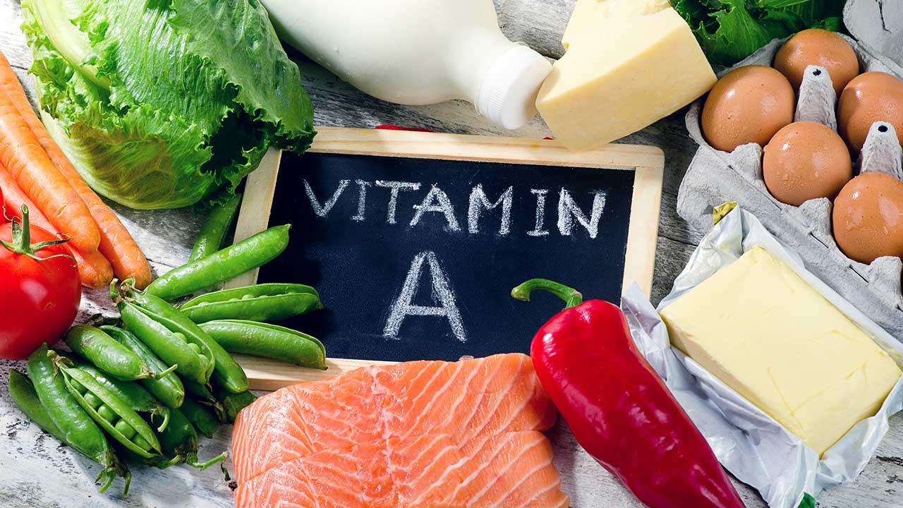Lebesnmittel mit Vitamin A