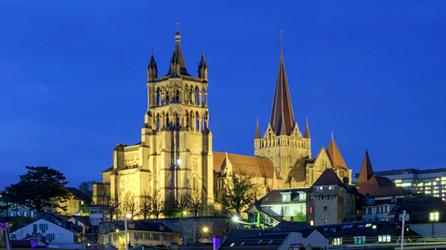 Kathedrale Notre Dame in Lausanne