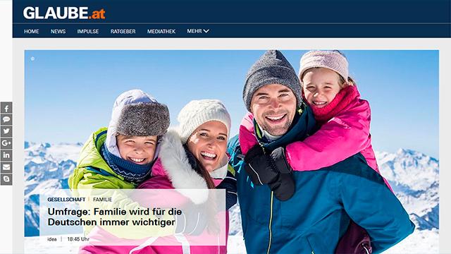 Website Glaube.at