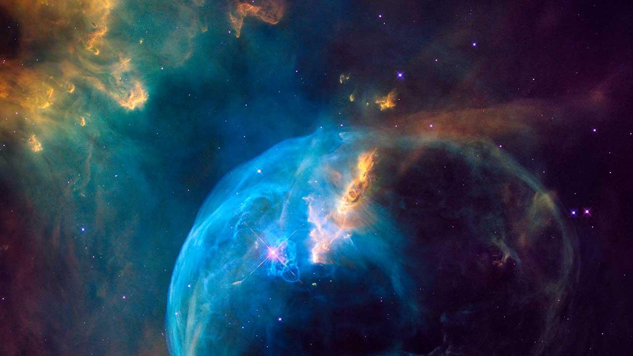 Stimmungsbild aus dem Weltraum