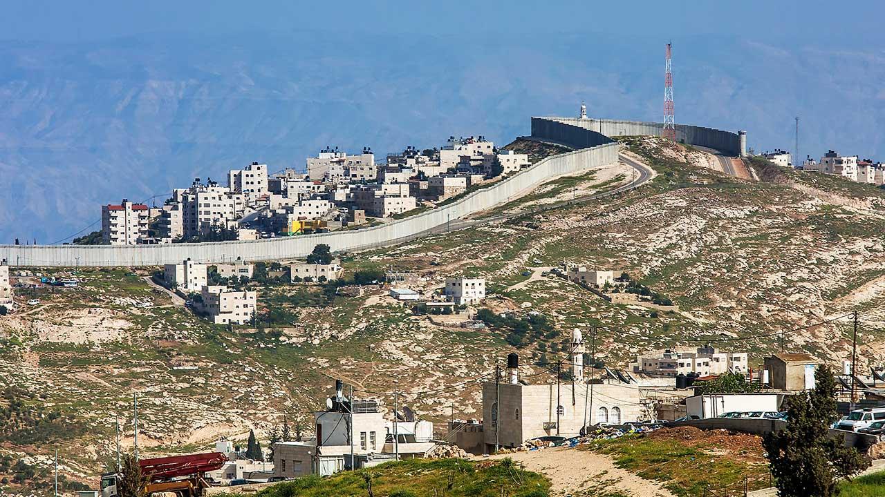 Sperrmauer im Westjordanland