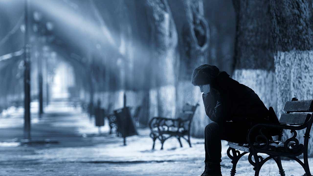 Traurigkeit – und doch ein Strahl der Hoffnung | (c) 123rf
