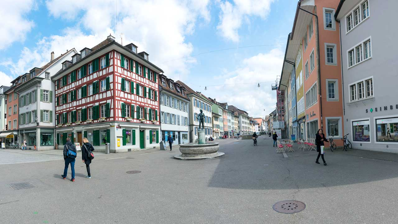In der Altstadt von Winterthur | (c) 123rf