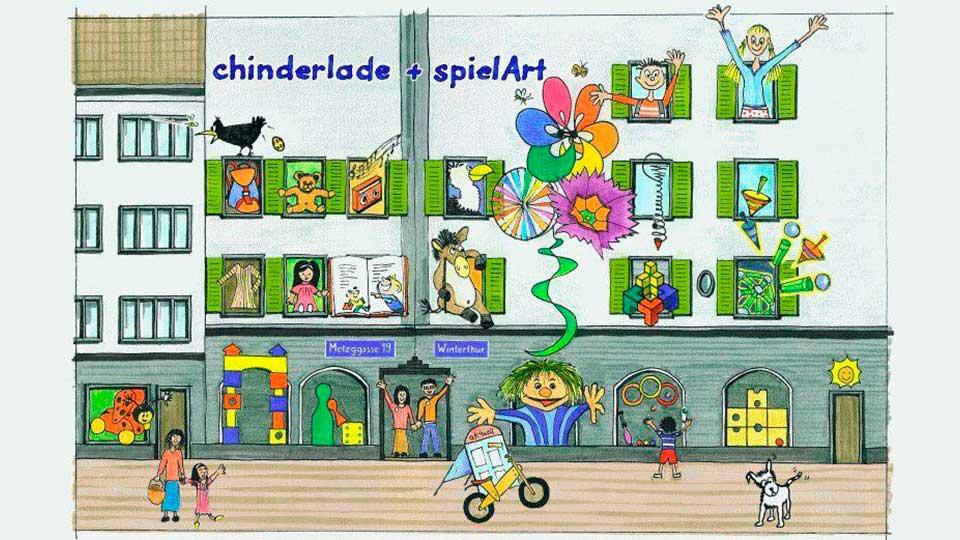 «Chinderlade + spielArt» in Winterthur | (c) Chinderlade + spielArt