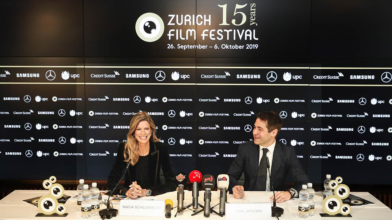 Die Gründer Nadja Schildknecht und Karl Spoerri geben Ende Jahr die operative Leitung ab | (c) ZFF