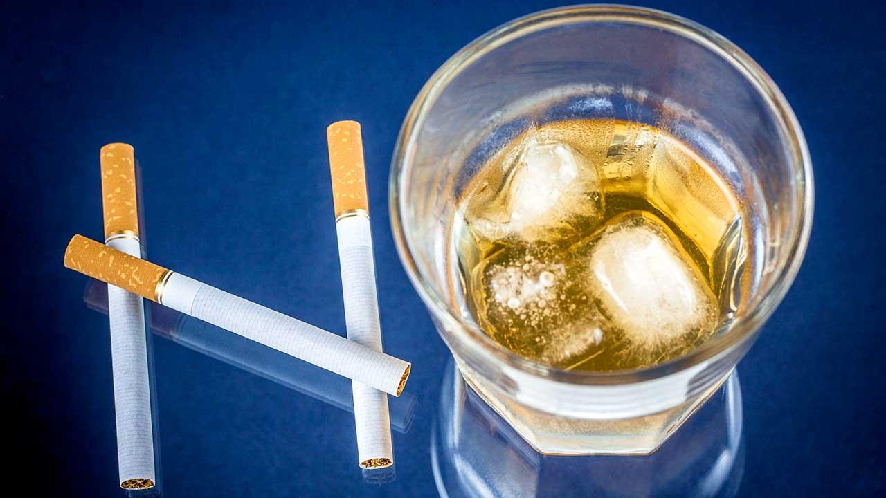 Verzicht: kein Alkohol, keine Zigaretten