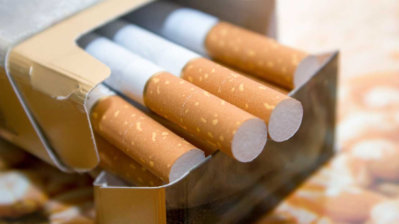 Päckchen Zigaretten
