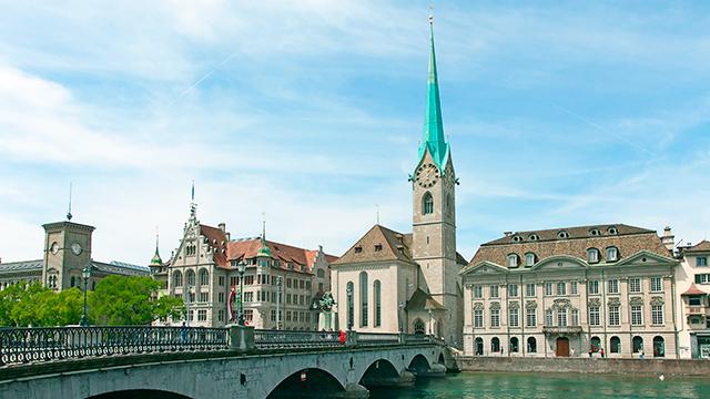 Fraumünsterkirche in Zürich