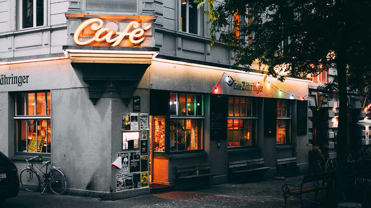 Café Zähringer in Zürich