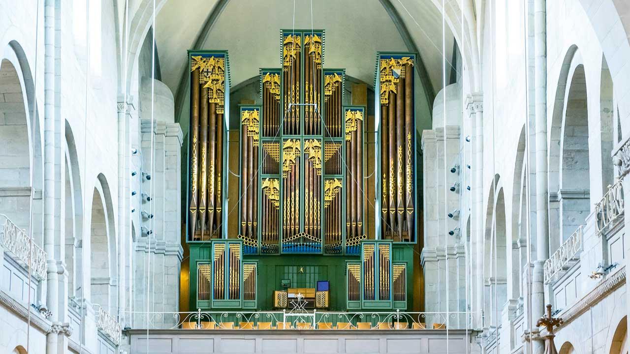 Orgel im Grossmünster Zürich