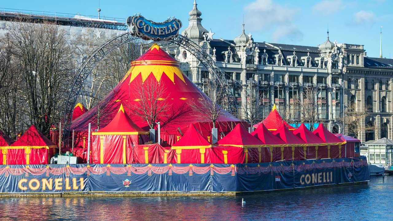 Zirkus Conelli in Zürich