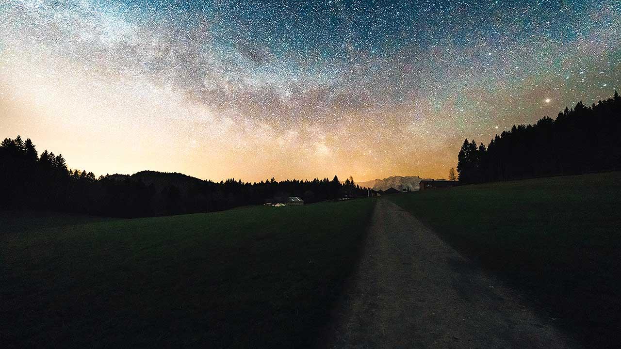Sternenhimmel in Raten, Oberägeri ZG