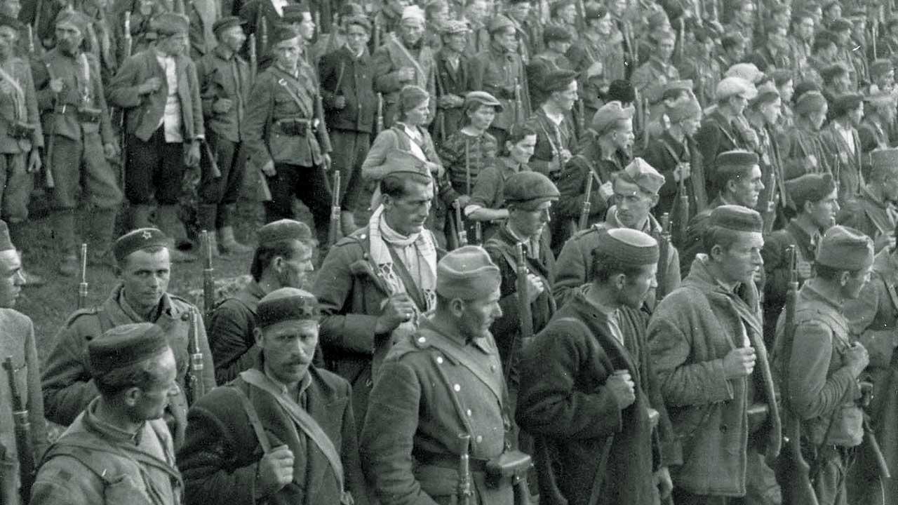 Partisananbrigade im Zweiten Weltkrieg