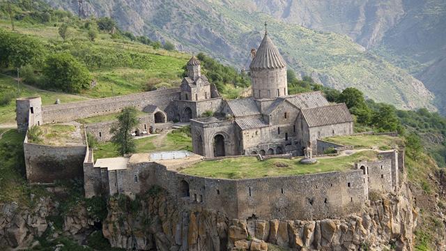 Kloster in Armenien