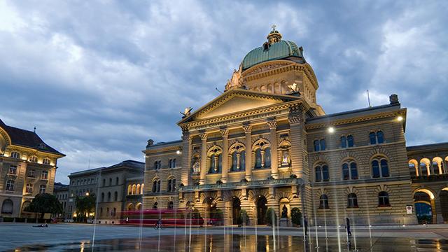 Bundeshaus der Schweiz in Bern