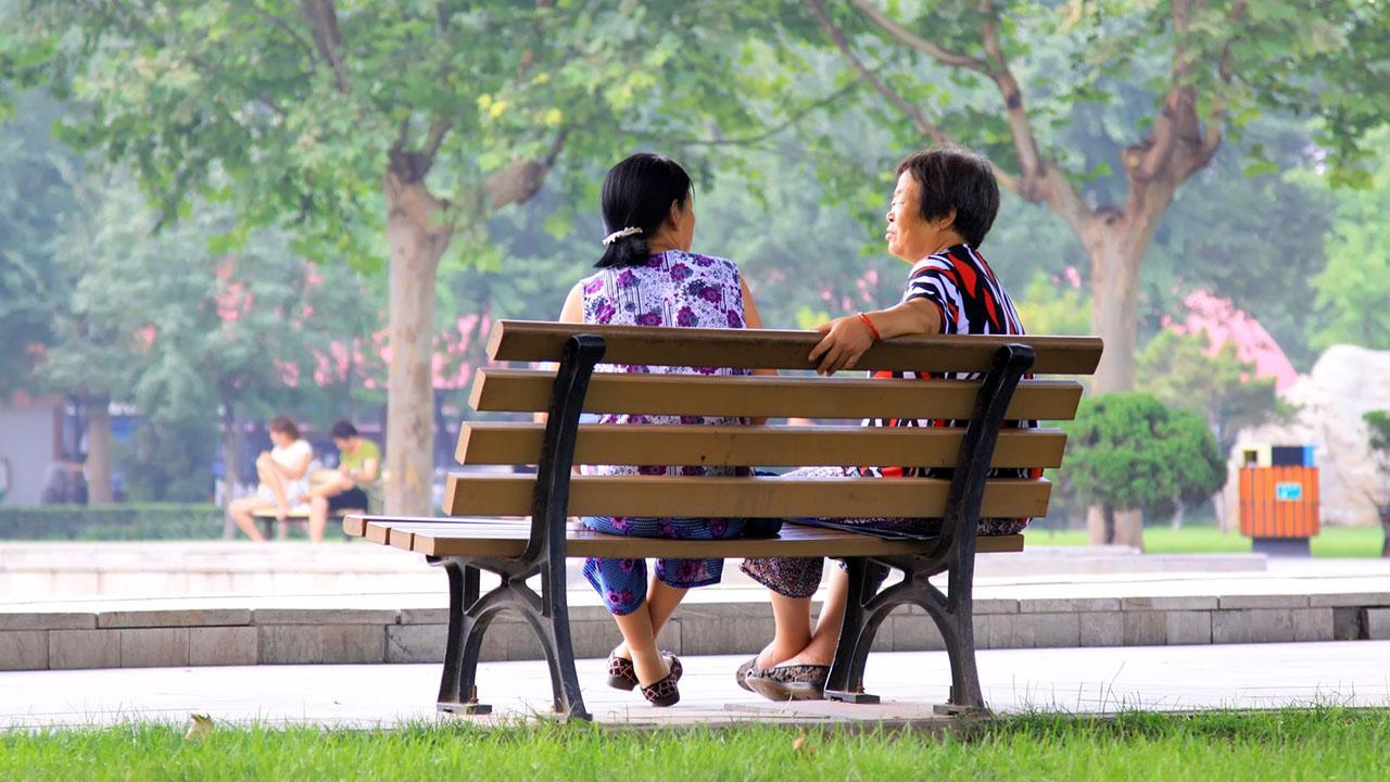 Gespräch im Park | (c) 123rf