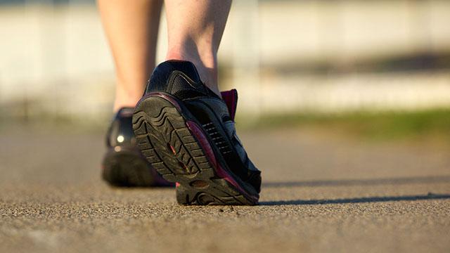 Person mit Läuferschuhe | (c) 123rf