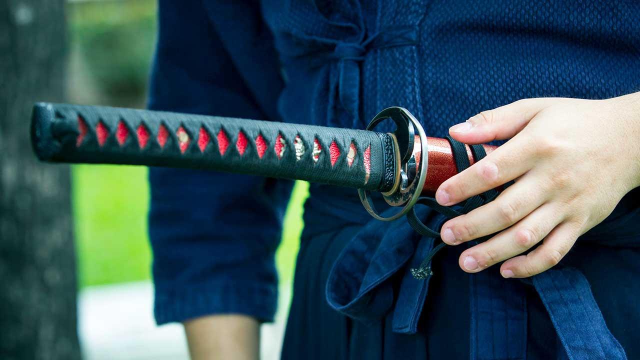 japanisches Katana-Schwert
