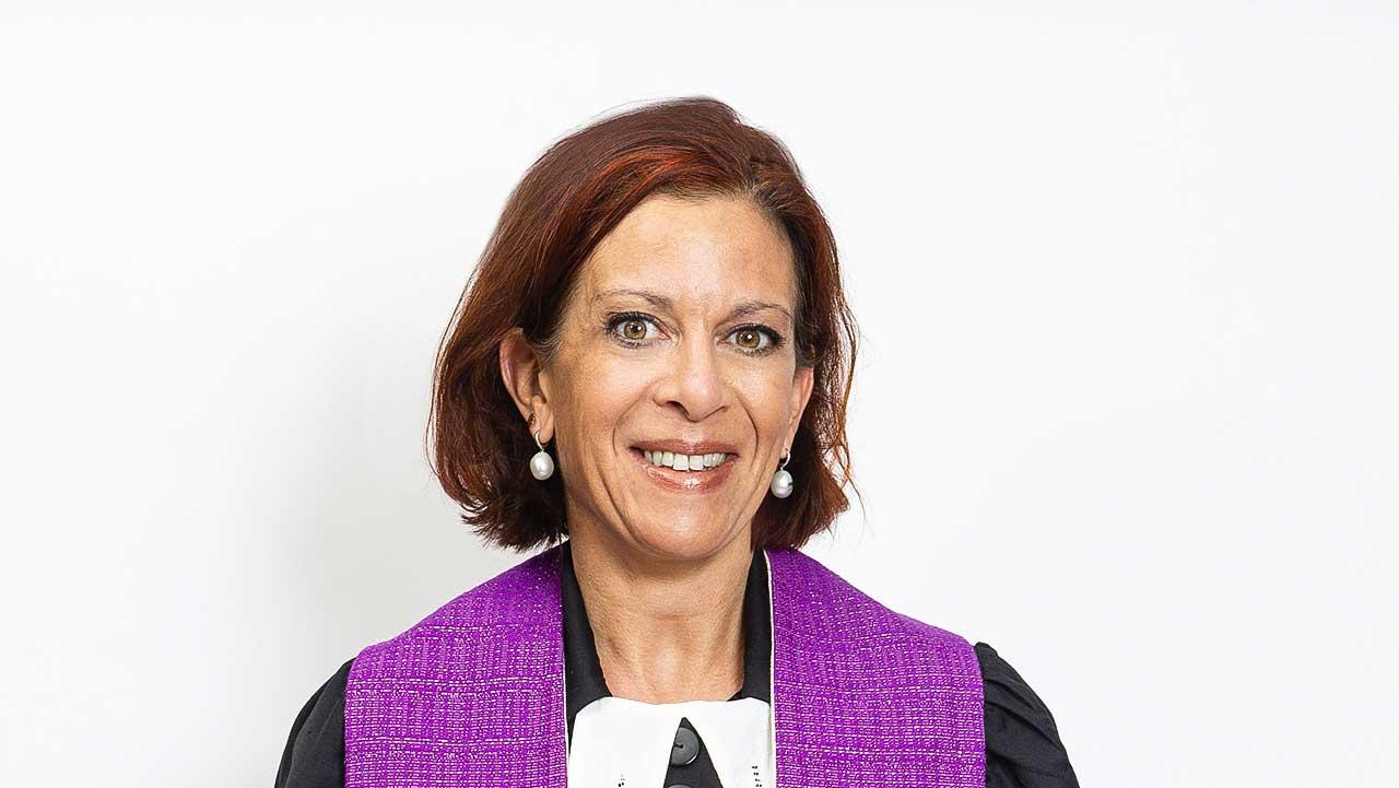 reformierte Zirkus-Pfarrerin Eveline Saoud