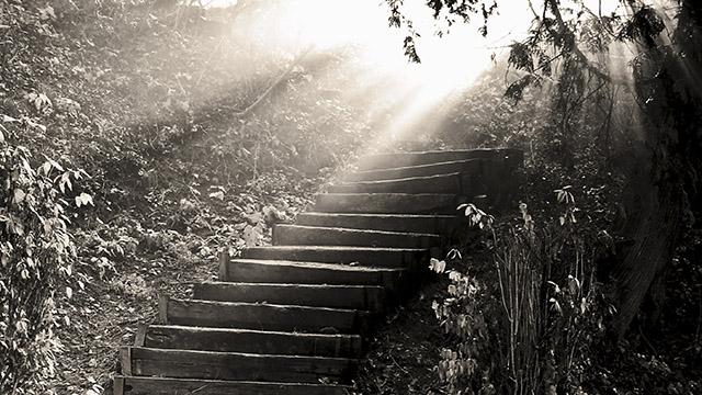 Der Weg nach oben zur Hoffnung