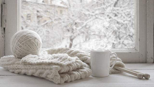 Im Winter stricken | (c) unbekannt
