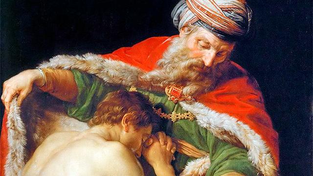«Rückkehr des verlorenen Sohns» von Pompeo Batoni