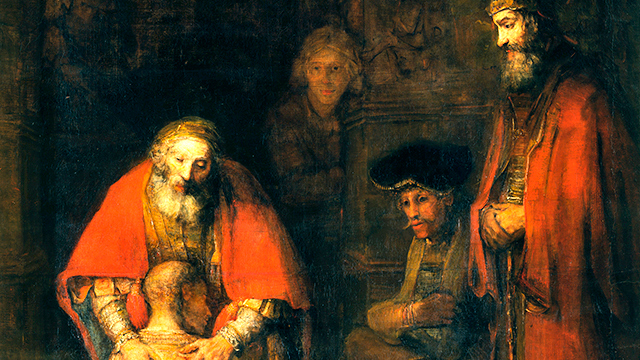 Bild «Rückkehr des verlorenen Sohns» von Rembrandt