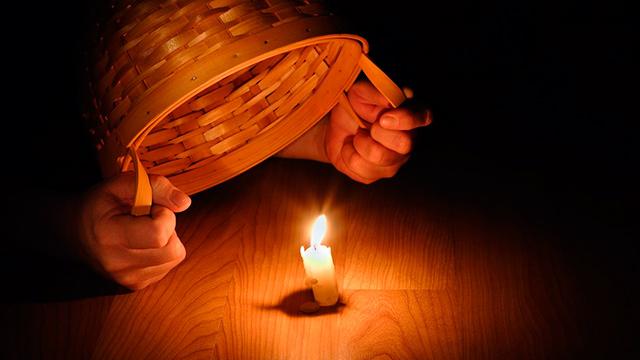 «Das Licht unter den Scheffel stellen»