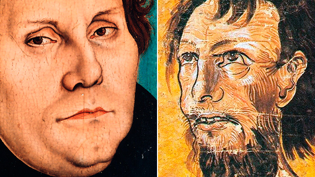Martin Luther und Niklaus von Flüe