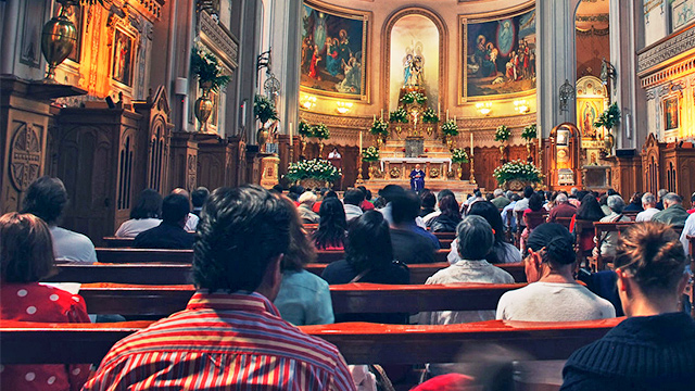 Gottesdienst in Mexiko City