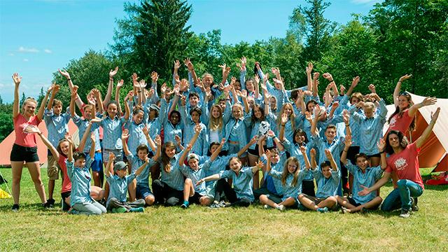 Ein Sommerlager der SJAS