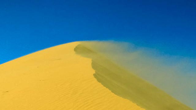 Verwehter Sand