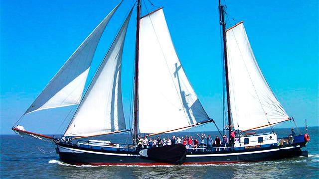 Segelschiff «Mon Desir»