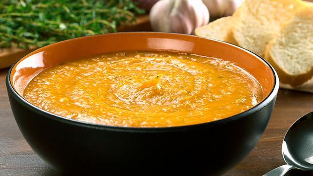 Süsskartoffel-Suppe