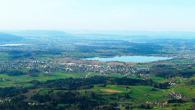 Zürcher Oberland mit Wetzikon