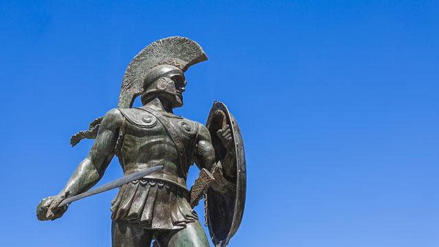 Kriegerstatue (c) Fotolia