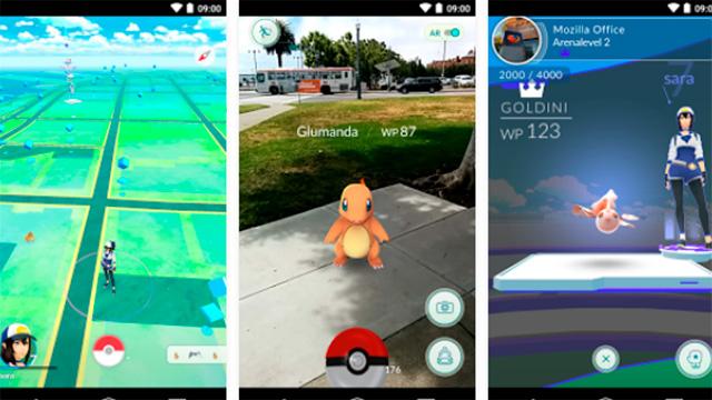 Screenshot von «Pokemon GO»