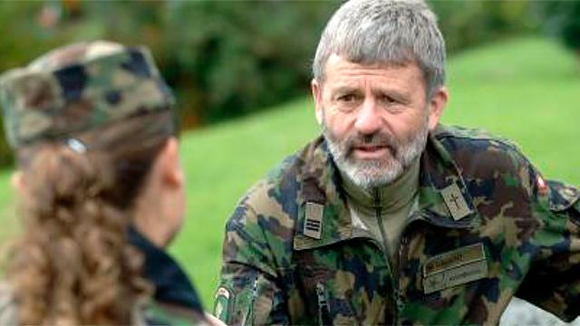 Armeeseelsorger im Gespräch