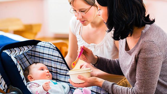 Hilfe für die frischgebackene Mutter