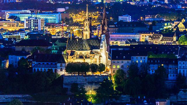 Basel nachts