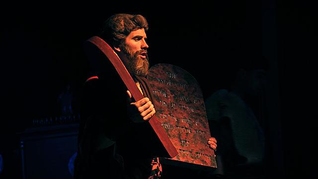 Moses mit Gesetzestafeln