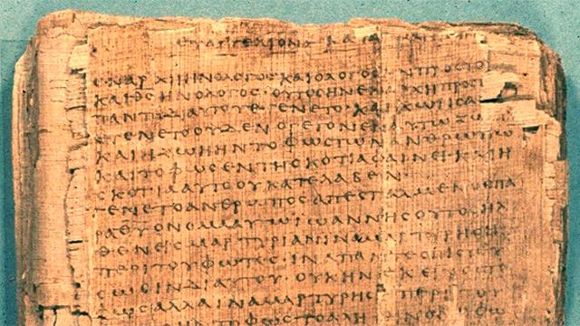 Manuskript des Neuen Testaments