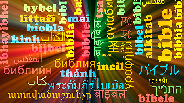 Bibel in diversen Sprachen