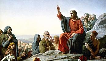 «Die Bergpredigt» von Carl Heinrich Bloch