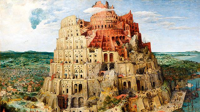 Bild «Grosser Turmbau zu Babel» von Pieter Brueghel