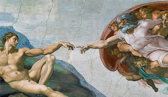 Bild «Erschaffung Adams»