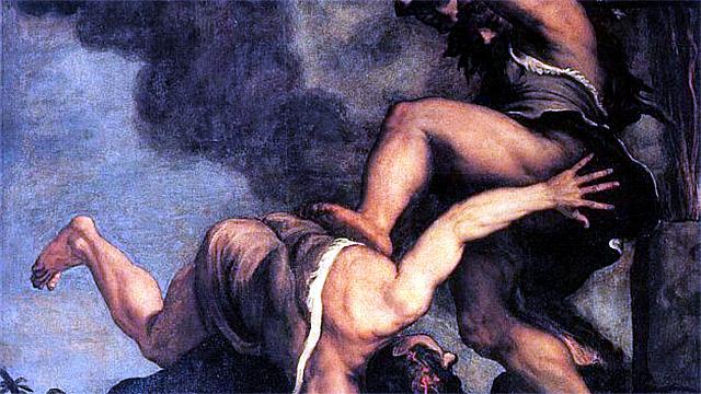 «Kain und Abel» von Tizian